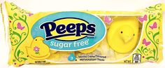 PEEPS - MARSHMALLOW YELLOW CHICKS - Soft Candy - Sugar Free Candies - 3ct pack  #PEEPS #Candy