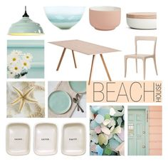 """""""Beach House Style"""" by jenniferkoper ❤ liked on Polyvore featuring interior, interiors, interior design, home, home decor, interior decorating, Ballard Designs, When Objects Work, Redford House and HAY"""