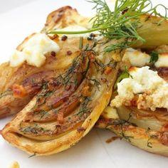 Gekarameliseerde Venkel Yummy Veggie, Vegetable Recipes, Vegetarian Recipes, Yotam Ottolenghi, Ottolenghi Recipes, Bio Food, Healthy Recepies, Vegetable Side Dishes, Pasta