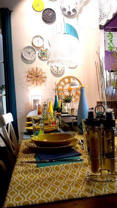 Table Côte d'azur, maison de Genevilliers