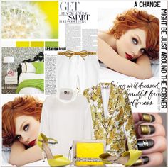 """A Change Might Be Just Around The Corner"" by lidia-solymosi ❤ liked on Polyvore"