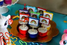 Rainbow Dash / My Little Pony Birthday Party Ideas | Photo 38 of 46 | Catch My Party