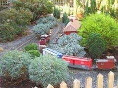 The Strawberry Patch Garden Railroad