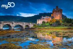 Eilean Donan Castle looks like it's fresh from a movie set. See it for yourself and add it to your list of travel goal destinations on my50.com