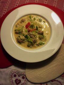 Deftige Käse-Lauch-Suppe