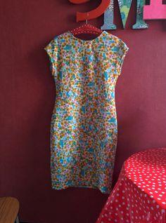De Harlequin jurk gemaakt...!