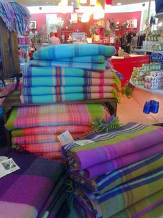 Avoca Handwoven Rugs, Dublin, Ireland Better pack a spare bag for all the goodies to bring home!