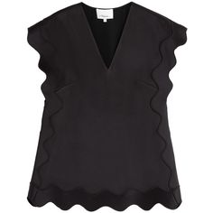 3.1 Phillip Lim - Scalloped Detailed Top
