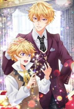 Shall we date?: Wizardess Heart + My Brother, My Enemy (Part - Spin off CG's Manga Anime, Anime Dad, Manga Boy, Cute Anime Boy, Anime Art Girl, Anime Boys, Anime Siblings, Anime Couples, Character