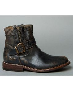 cfc67a5cf24 Bed Stu Women s Becca Side Zip Boots - Round Toe