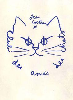 jean cocteau #meow