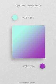 16 Beautiful Color Gradient Inspiration Part 3 Pantone Colour Palettes, Purple Color Palettes, Colour Pallete, Pantone Color, Color Schemes, Ui Color, Gradient Color, Design Color, Web Design