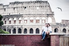 Engagement in Rome — one amazing morning with Eimear and Willy | by photographer Artur Jakutsevich based in Rome, Italy