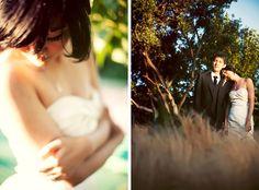 Artsy outdoor Cornerstone Sonoma wedding. Tinywater Photography, http://tinywater.com.
