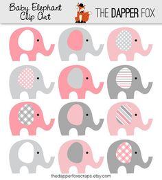hermosos elefantitos...