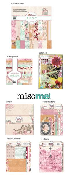BoBunny: Summer Release Sneak Peeks!  The Madeleiine collection. Stop by the blog to win