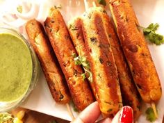 Paneer corn seekh kabab is one of the healthiest appetizer and party snacks recipe. It's quick to make. Learn how to make paneer corn kabab Vegetarian Recipes, Snack Recipes, Cooking Recipes, How To Make Paneer, Paneer Recipes, Healthy Appetizers, Garam Masala, Party Snacks, Hot Dog Buns