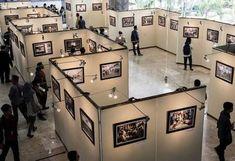 Museum Exhibition Design, Exhibition Space, Art Museum, Photo Exhibit, Tile Showroom, Store Interiors, Painting Wallpaper, Architecture Office, Boutique Design