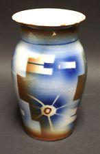 Vintage Airbrush Spritzdekor Art Deco Pottery German Vase