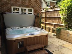 """""""We are extremely delighted with our jacuzzi. We use it every night. It has been a pleasure buying from Jacuzzi Longacres. Customer service has been impeccable throughout, from sales through to delivery and installation. I would highly recommend a jacuzzi for anybody suffering from arthritis, particularly during the winter season."""" Mrs. AP, Camberley"""