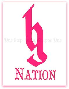 Brantley Gilbert BG Nation Logo Decal by OneStopValleyShoppe, $4.00