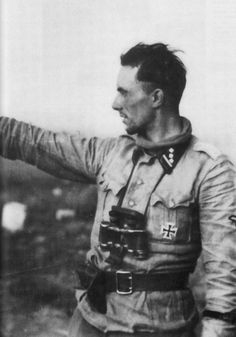 "Erich Olboeter (26 June 1917 - 2 September 1944) was a Sturmbannführer with the Waffen-SS. He started his carreer with SS-VT in 1934 and was selected for the SS-Junkerschule in 1937. He joined the Leibstandarte SS Adolf Hitler in 1938, as an Untersturmführer. He would eventually rise to the rank of Sturmbannführer and join the 12. SS-Panzer-Division ""Hitlerjugend"". Olboeter was known for his aggressiveness and bravery on the battlefield, earning him the German Cross in Gold on 21st of March…"