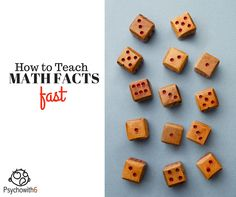How to Teach Math Facts Fast