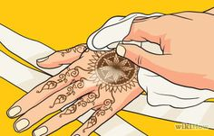 How to Care for a Henna Design: 13 Steps (with Pictures)