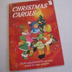 vintage christmas book | Vintage 1957 Whitman Christmas Carols Song Book ...I either had or have this... one never knows what's still lost in my mother's house.