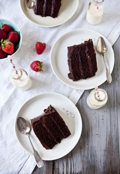Gluten-Free Double Trouble Chocolate Cake--I will be making this for a friend this weekend.