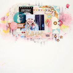 Christin aka Umenorskan scrapper: Awesome and Cute - Paper Issues