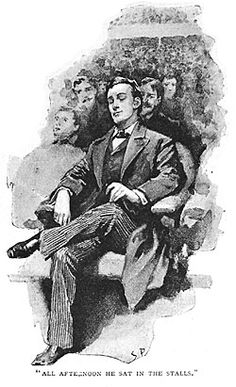 Probably my favorite illustration of Sherlock ever. Sidney Paget. Discovering Sherlock Holmes - A Community Reading Project From Stanford University