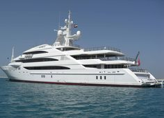 Vacation on a yacht