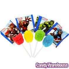 Just found Marvel Avengers Lollipops: 25-Piece Bag @CandyWarehouse, Thanks for the #CandyAssist!