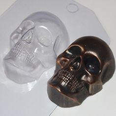 Skull - plastic soap mold soap making soap mould molds soap mold by soapcityru on Etsy https://www.etsy.com/ca/listing/451897856/skull-plastic-soap-mold-soap-making-soap