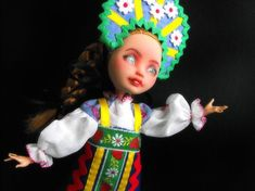 Ever After high doll repaint Ever after ooak Monster high repaint Ooak Doll repaint Monster high ooak Monster high custom doll bjd Russian Ashlynn Ella, Monster High Clothes, Monster High Custom, Monster High Repaint, Ever After High, Doll Repaint, Watercolor Pencils, Ooak Dolls, Custom Dolls