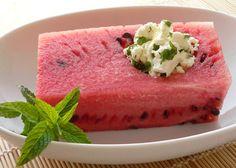 Watermelon & Feta & Mint