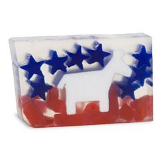 Exercise your right to bathe in this cola scented bar *Democrat*