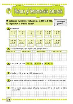 Clasa a II-a : Matematică și explorarea mediului. Clasa a II-a. Partea I - (E1) Math 2, Thing 1, Periodic Table, Classroom, School, Class Room, Periodic Table Chart, Periotic Table