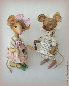 Мышка ШЕБА и Крыска ШУШАРА - крыса,крыска,игрушка крыса,игрушка мышь,подарок на 8 марта