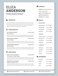 In  Resume Cover Letter Business Card  Resumes Stationery