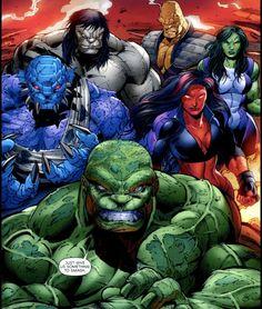 The Hulk Family