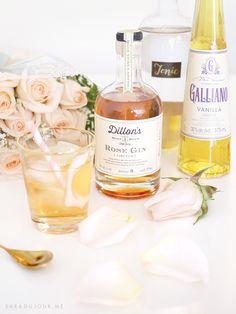 Cocktail Hour: Dillon's Rose Gin + Tonic • Sara du Jour