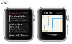 What The Font? Analyzing The New Apple Watch Typeface | Whatever it's actually called, the new typeface has a lot in common with the first version of Roboto, a custom typeface designed by Google in 2012 for its Android platform. In fact, as the Verge shows, in execution, the Apple Watch typeface looks like a bolder, rounder version of Roboto.