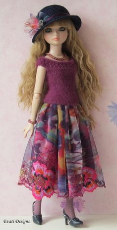 OOAK Outfit for Ellowyne Wilde by *evati* via eBay, ends 6/29/14