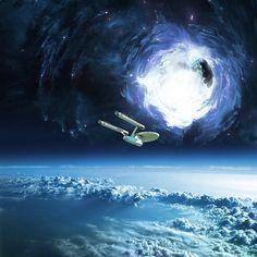 USS Enterprise - Boldly going...