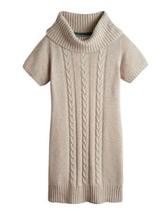 Joules null Womens Knitted Tunic, Oatmeal.                     Keep your fingers crossed for the temperature for the dip, because our new knitted tunic is about to make getting out and about during a cold snap a lot more stylish. With a cowl neck and cable knit detail that adds more than a touch of texture. Crafted with a little wool for a lot of warmth. #joules #christmas #wishlist