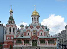 Kazan Cathedral, #Moscow, #Russia   Picfari.com