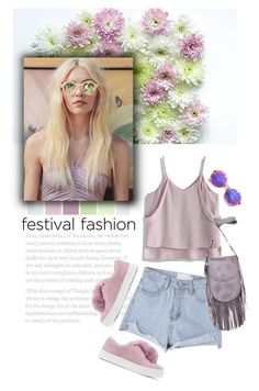 """Festival Fashion"" by mmk2k ❤ liked on Polyvore featuring Chicwish, Sam Edelman, ZeroUV, Latico, Summer, Spring and festivalfashion"