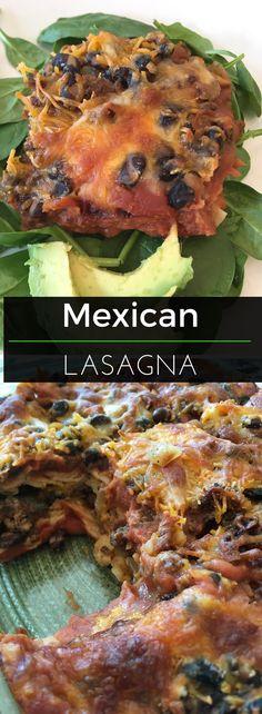 This Mexican Lasagna
